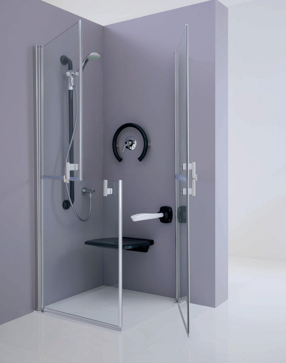 Design for all il bagno - Maniglione disabili bagno ...