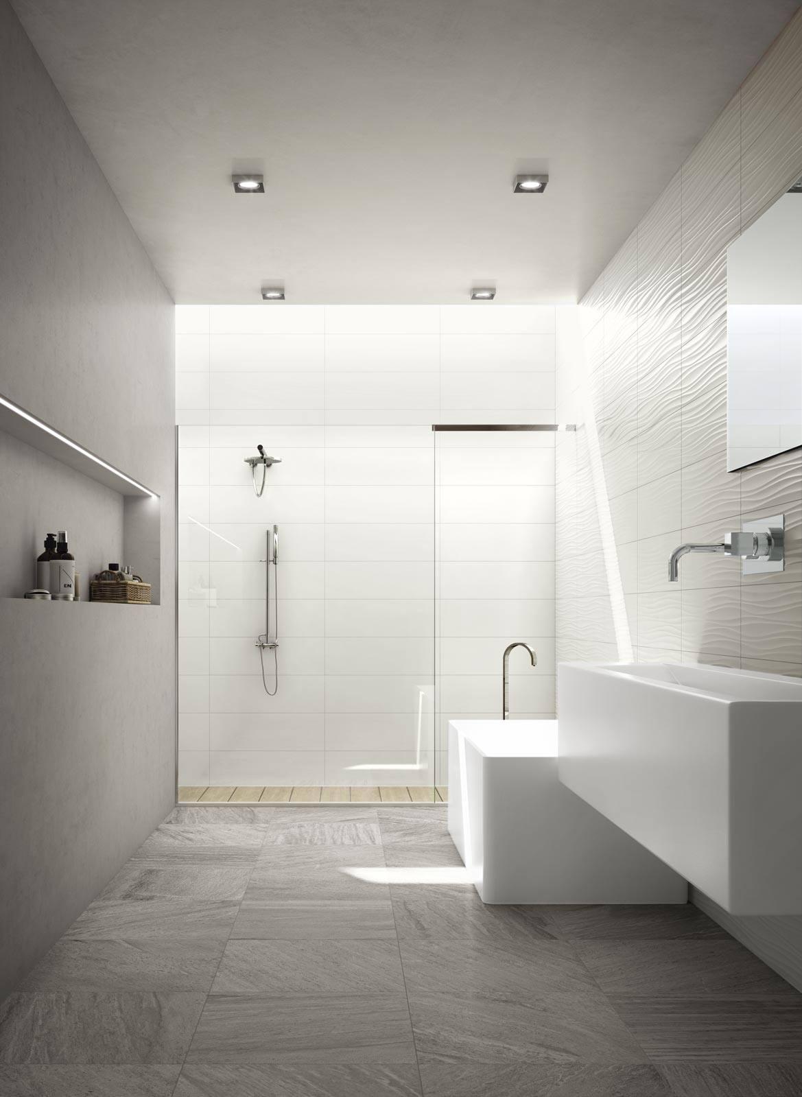 Tante idee per realizzare un delizioso bagno - Nicchie in bagno ...